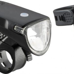 Axa - Verlichtingsset Greenline 35 Batterij Led Zwart
