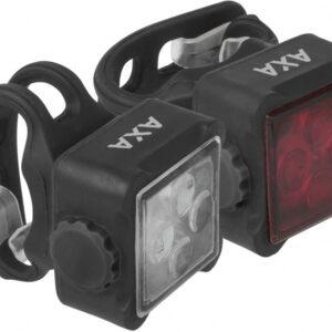 Axa - Verlichtingsset Niteline 44-r Led Zwart