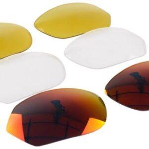 Lazer lenzenset EC 1 rood/geel/transparant