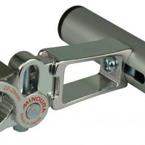Minoura stuurhouder 22,2/29 mm zilver