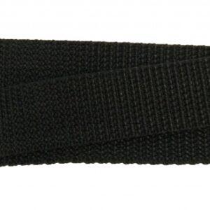 New Looxs bevestiging riempje met dubbele gesp 13 cm zwart