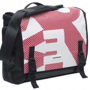 New looxs pakaftas Postino Office 14 liter rood/wit