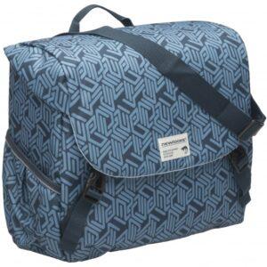 New looxs schoudertas Mondi Joy Single 106 18,5L donkerblauw/grijs