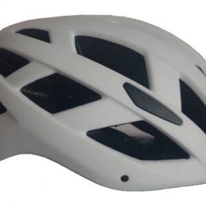 Pro Sport Lights fietshelm met verlichting unisex wit maat L