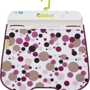 Qibbel stylingset voor Qibbel windscherm Dots paars Q714