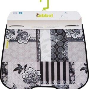 Qibbel stylingset voor Qibbel windscherm Suzy zwart/wit Q711