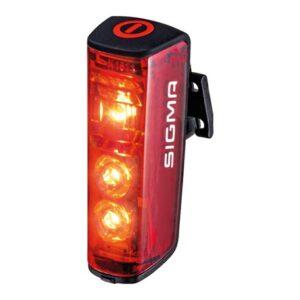 Sigma achterlicht Blaze LED 6,2 cm rood USB oplaadbaar
