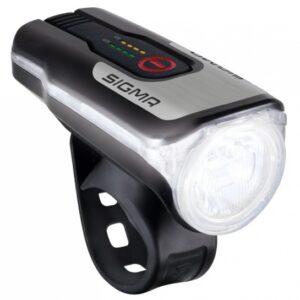 Sigma koplamp Aura 80 Lux led USB oplaadbaar zwart