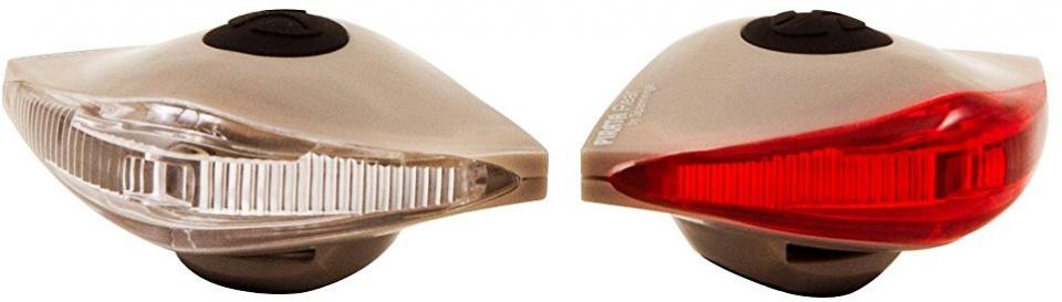 Spanninga verlichtingsset Pirata led batterij lichtbruin