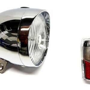 Spanninga verlichtingsset Smart Retro led batterijen zilver