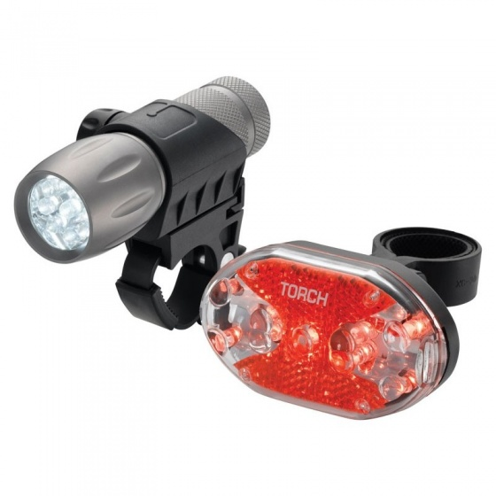 Torch verlichtingsset High Beamer Tactical 9 + Tail Bright 9x
