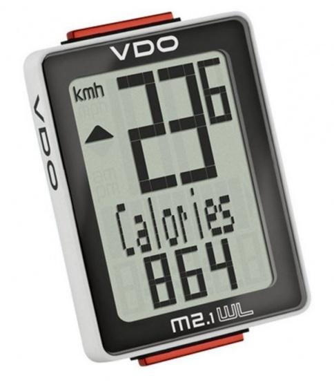 VDO fietscomputer M2.1 WR wit