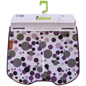windschermflap dots paars