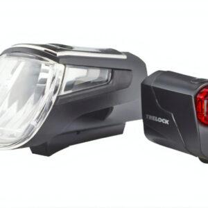 Trelock verlichtingsset LS560 I Go Control zwart