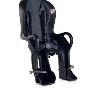 OK Baby fietszitje achter 10+ framebevestiging zwart/grijs