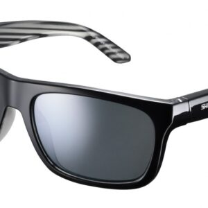 Shimano fietsbril Tokyo unisex zilver spiegelend zwart