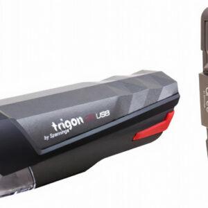 Spanninga verlichtingsset Trigon 25 II oplaadbaar led zwart