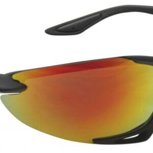 Mighty sport en fietsbril unisex matzwart