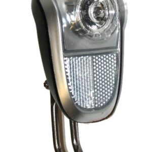 Mobile Marwi koplamp led naafdynamo smoke zwart