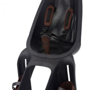 Qibbel fietszitje Air achter junior mesh bruin/zwart