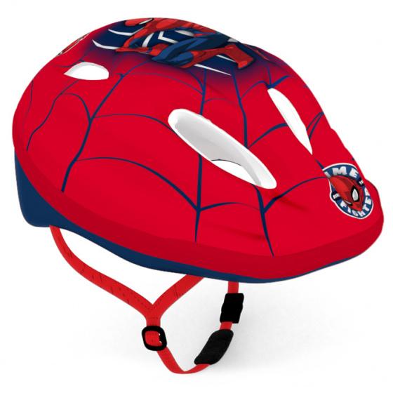 Disney kinderhelm spiderman jongens rood maat 52 56
