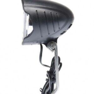 Simson koplamp koplamp round naafdynamo led zwart
