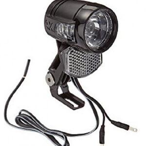 AXA koplamp Blueline 30 Switch led 6V zwart