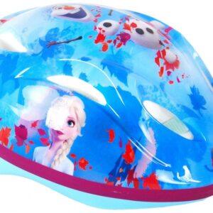 Disney Frozen fiets /skatehelm blauw/roze maat 51 55 cm