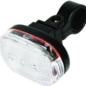 Dresco voorlicht 3 led batterijen zwart