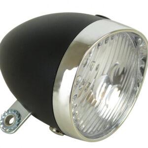 Dresco voorlicht Classic 3 led batterijen 9 cm zwart