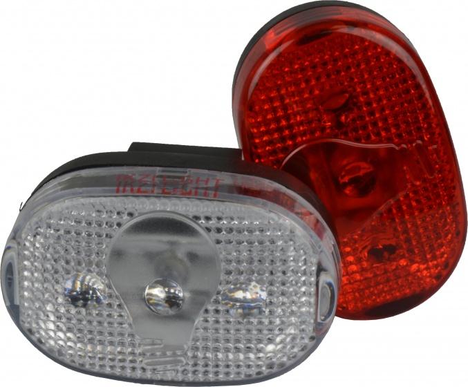 Ikzi Light verlichtingset led ATB rood/wit