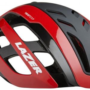 Lazer fietshelm Century led unisex rood/zwart maat 52 56 cm