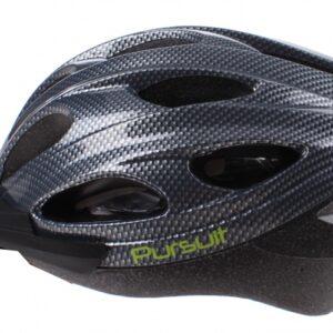 Summit Pursuit Fiets Helm unisex maat 54 58 cm zwart/zilver