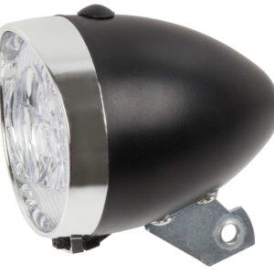 TOM Koplamp LED batterij zwart